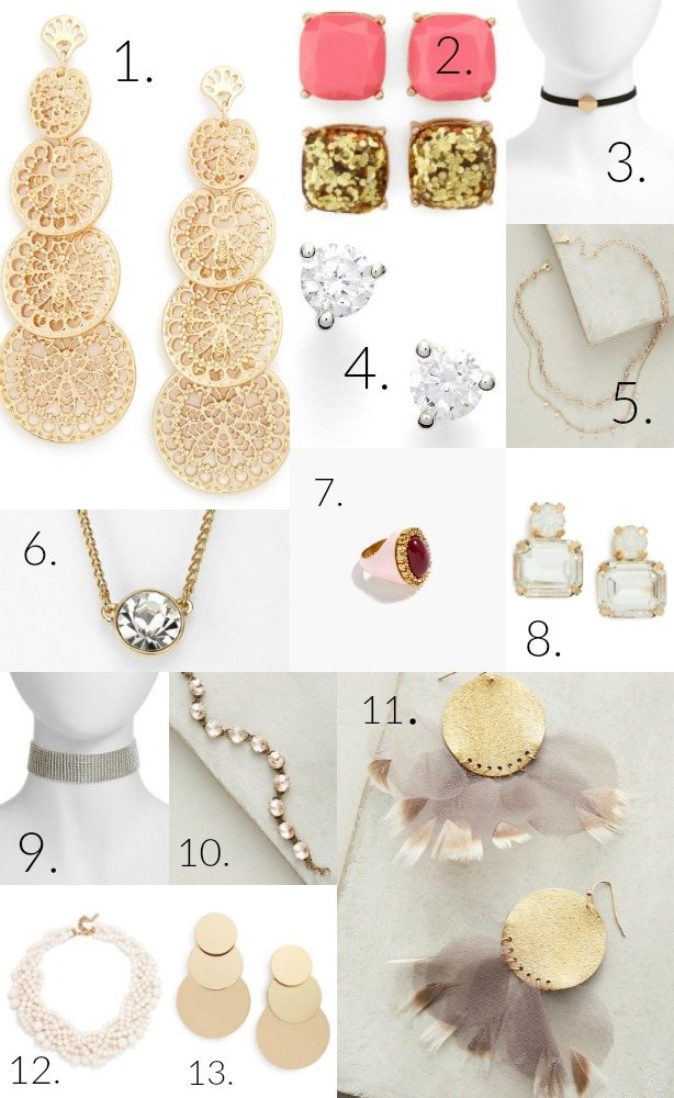 13 Holiday Jewelry Show Stoppers + Stocking Stuffers