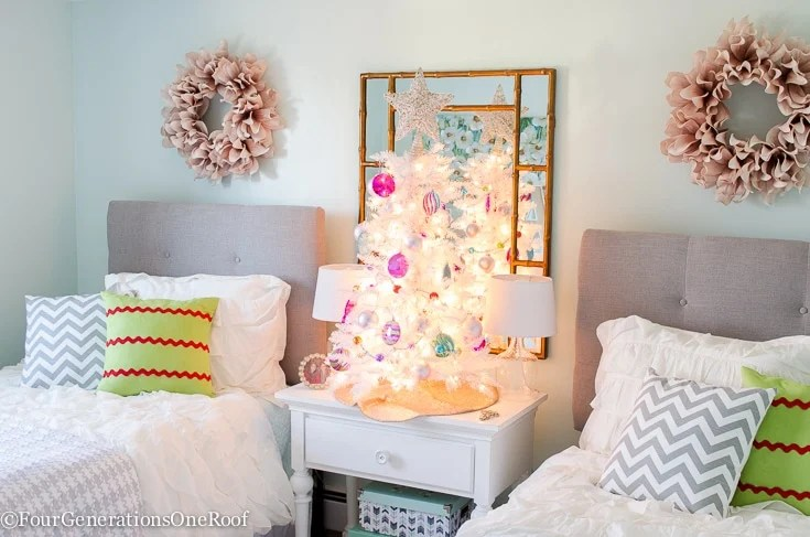 Teenage Girl Christmas Bedroom Four Generations One Roof