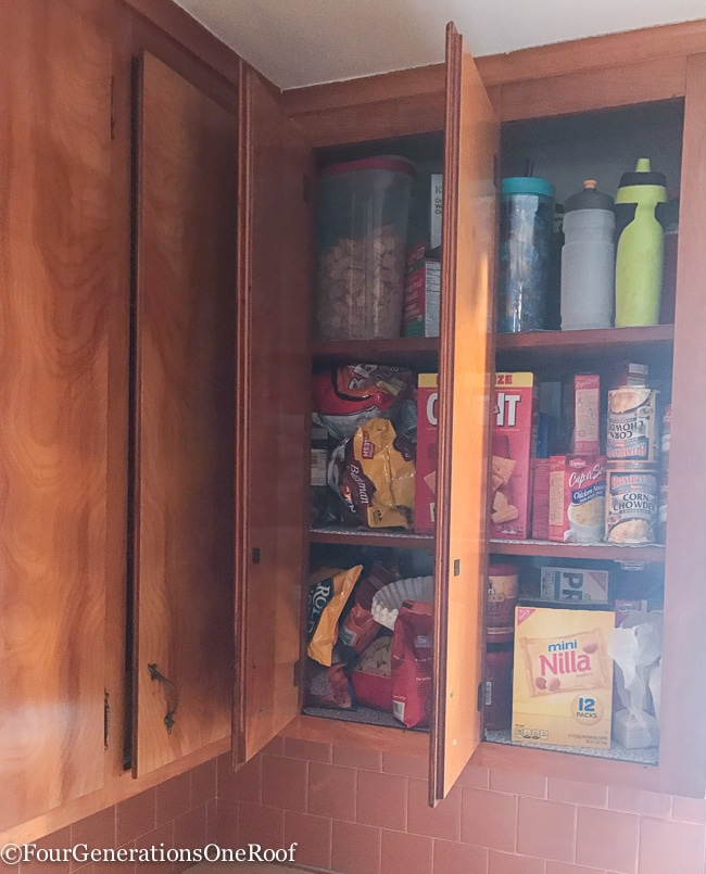 Diy Kitchen Closet Pantry Under 100 Four Generations One Roof