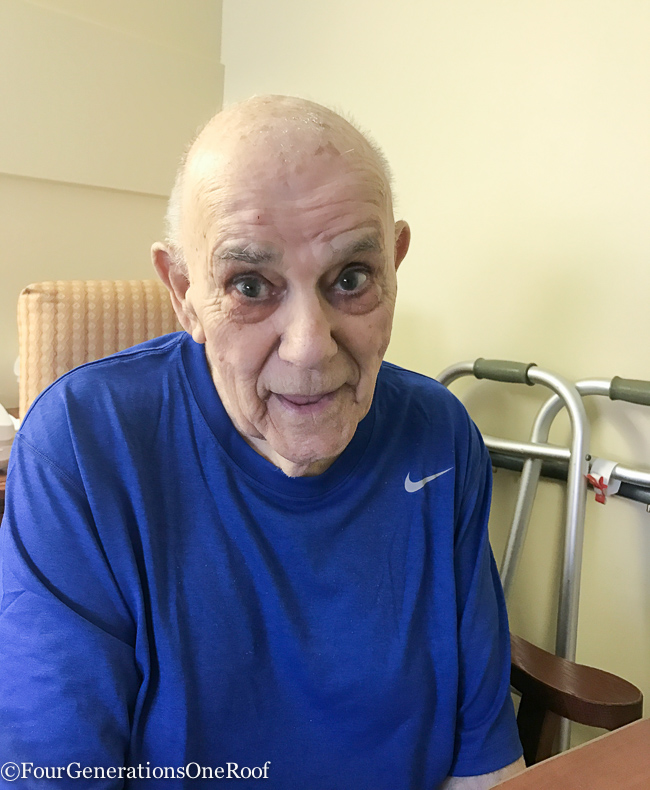 Short Term Rehabilitation for my Grandfather