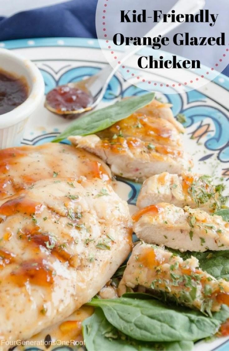 Kid-Friendly Orange Glazed Chicken