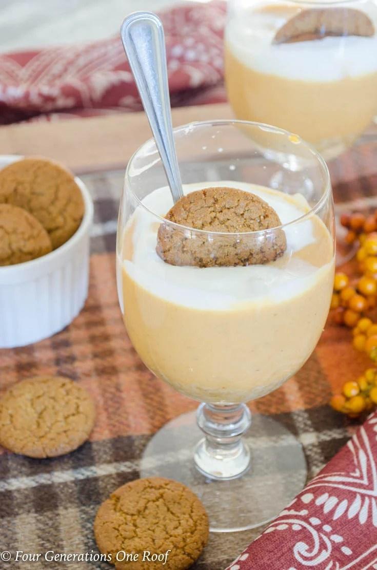5 step pumpkin mousse recipe