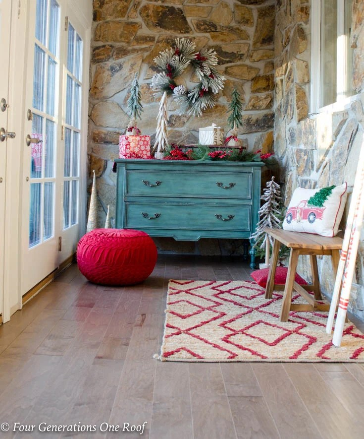 Beautiful New Maple Hardwood Floor Foyer Entrance Makeover
