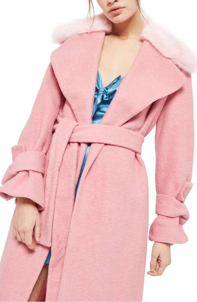 Perfect Pink Coat: Wardrobe Wednesday