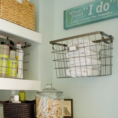How To Love and Maintain Your Laundry Room