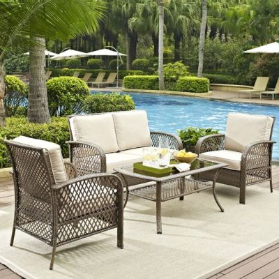 BEST Pool and Patio Furniture SALE + FAVS + power washing pool area