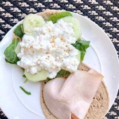 3 Minute Healthy Lunch Sandwich