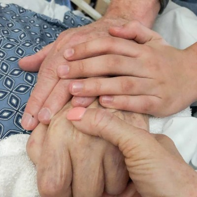 four generations hands picture