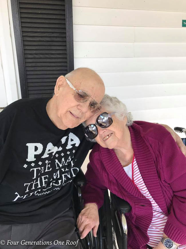 69 years of marriage husband and wife