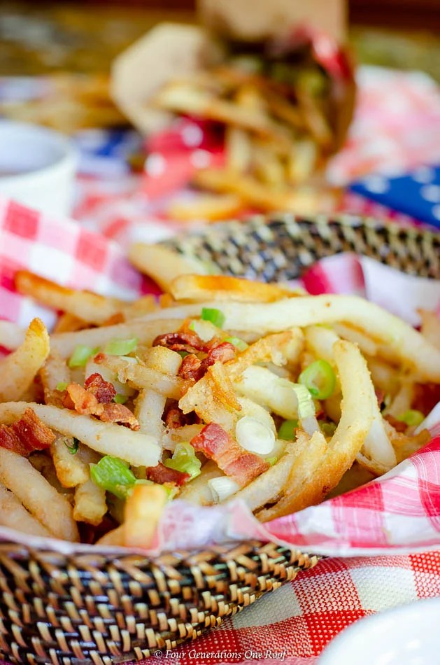 25 minute beer battered french fries