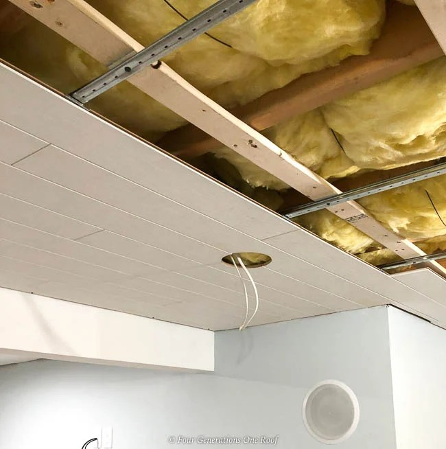 Installing Armstrong Ceilings Woodhaven Planks