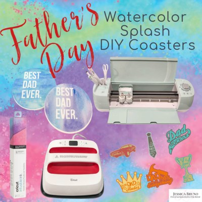 DIY Cricut Coaster Ideas For Dad