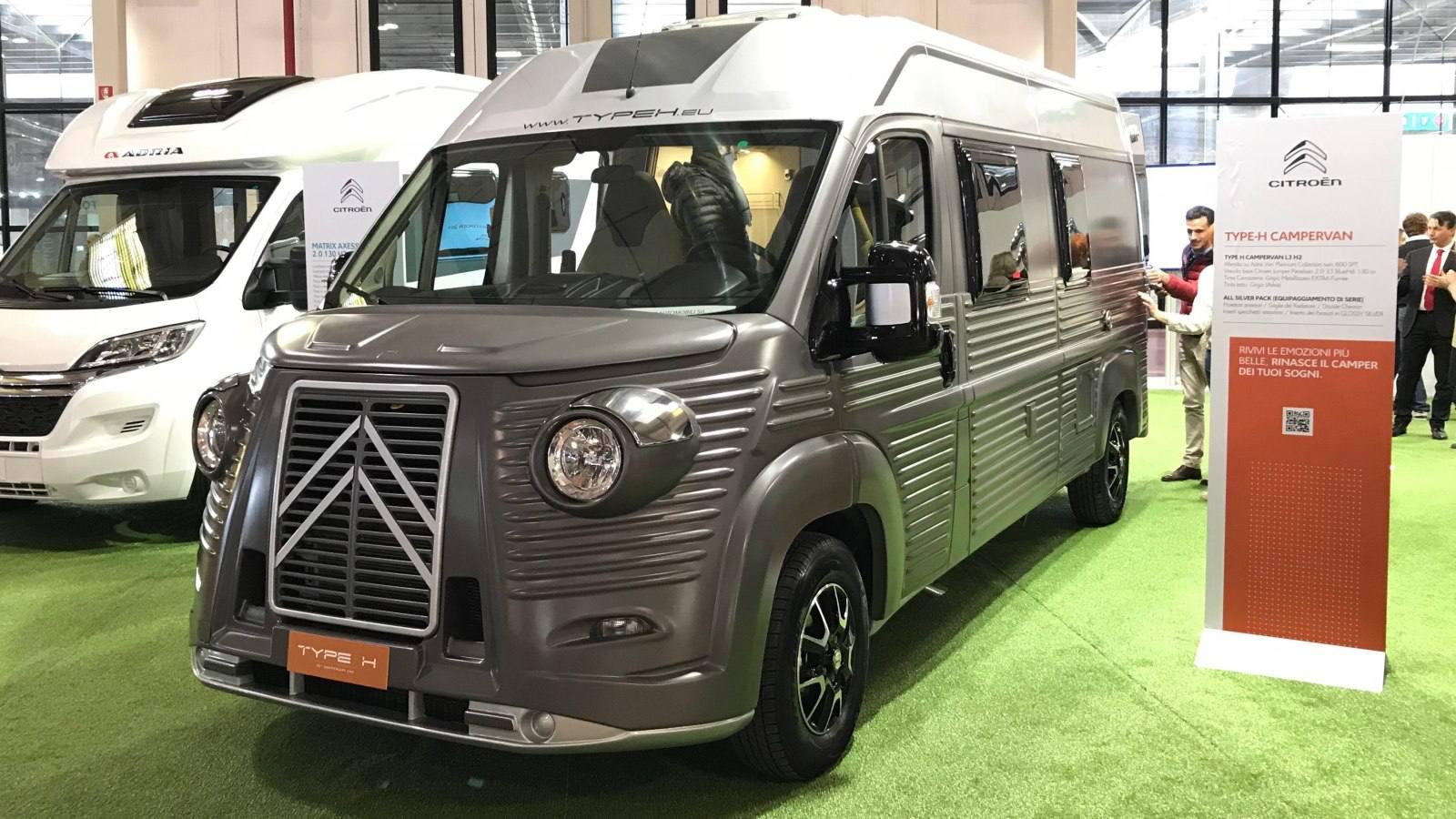 Citron Type H La Renaissance Du Mythe Fourgon Amp Van