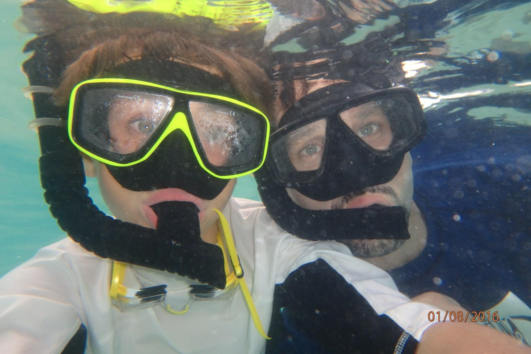 Snorkeling in Koh Samet