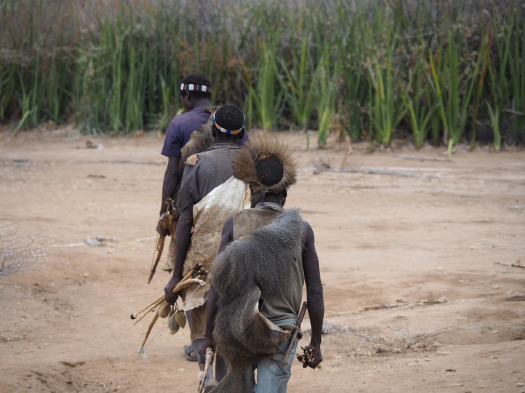 Hunting with the Hadzabe, Hunter-Gatherer Tribe, Middle-of-Nowhere, Tanzania