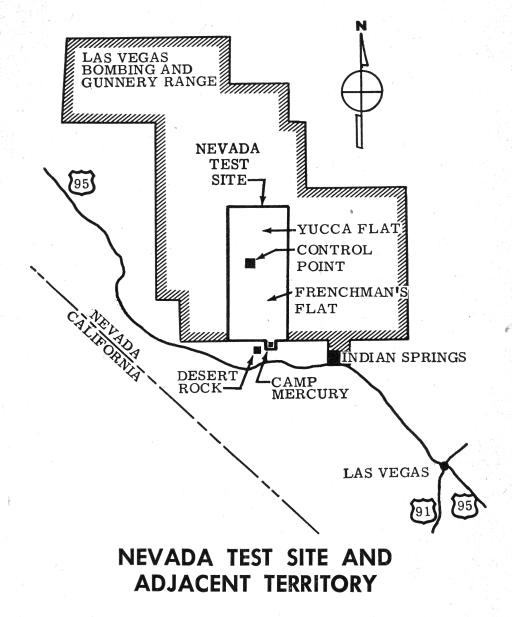 Nevada Test Site and Adjacent Territory