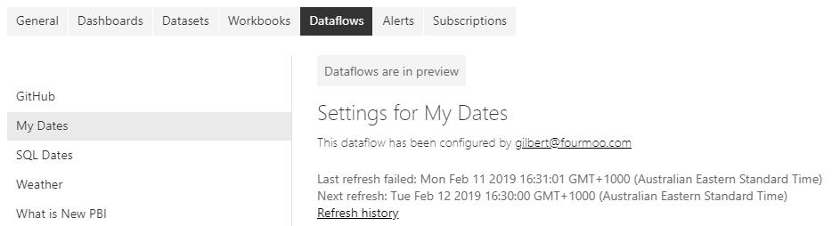 Why is my #PowerBI dataflow refresh failing - Reporting