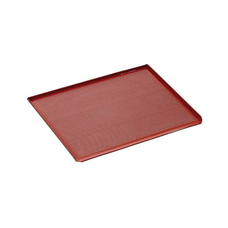 plaque de cuisson perforee revetement silicone