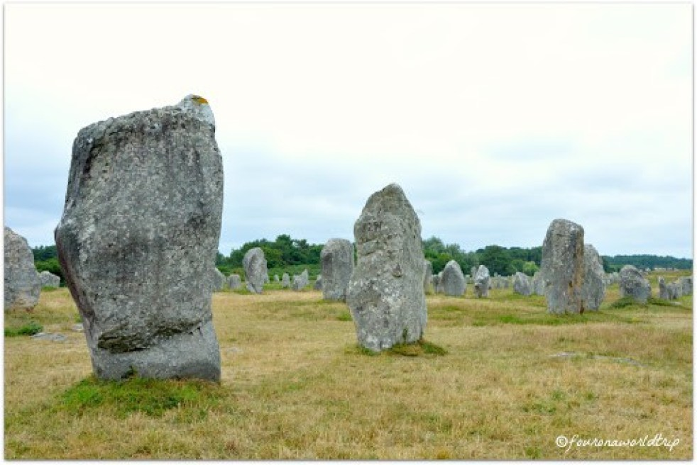 Carnac, Dolmen in Brittany - during your Bretagne travel the celtic highlights of the Bretagne region should not be missed
