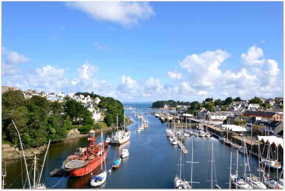 Douarnenez - view from the bridge