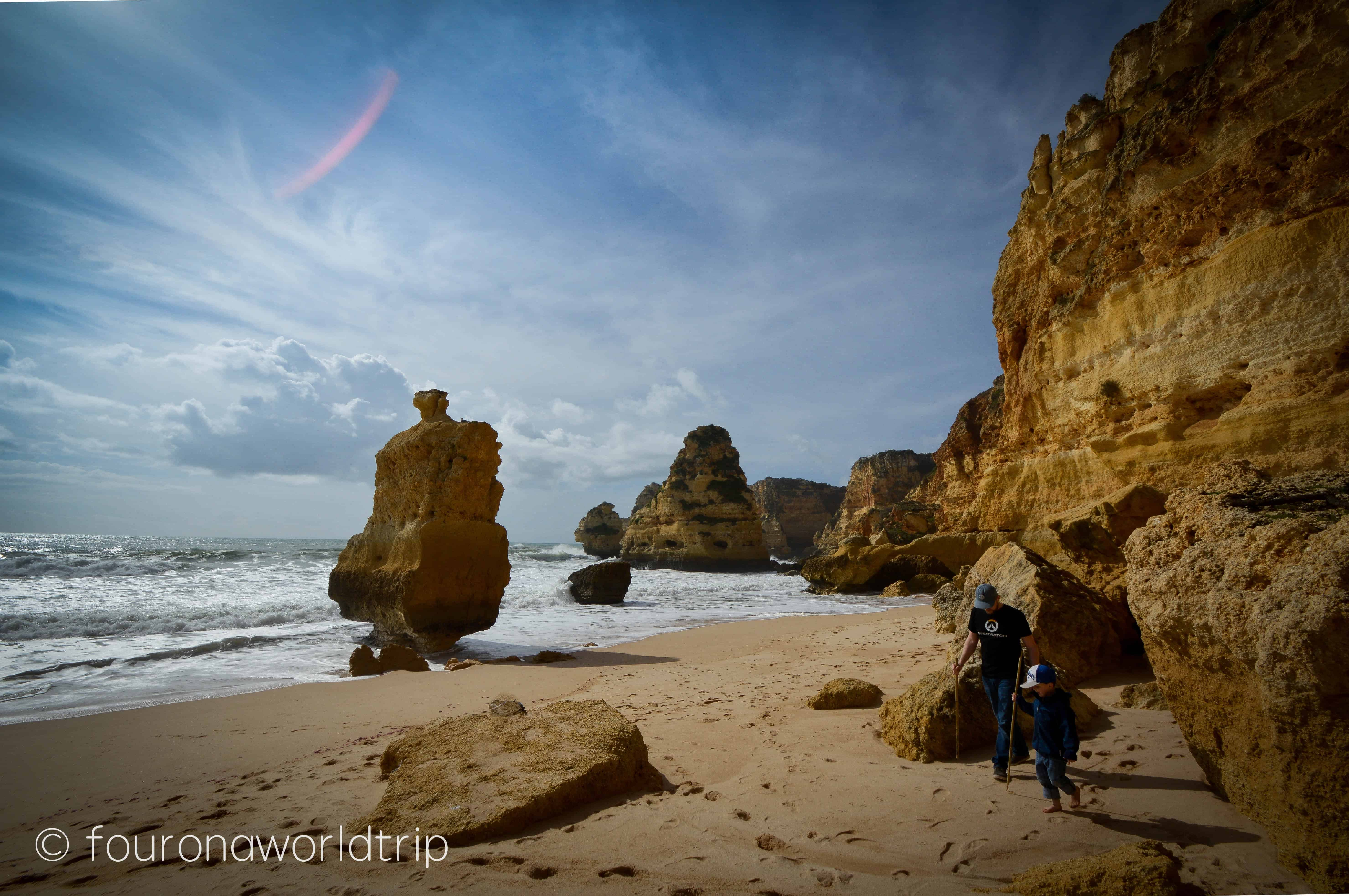 Exploring Praia de Marinha – the most famous rock formations in Algarve