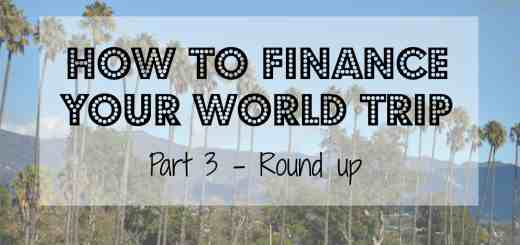 Travel Budget world trip