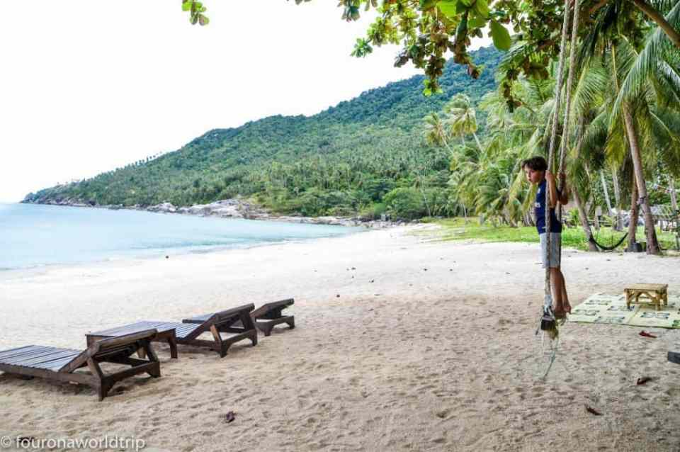 Koh Phangan with kids - best beaches on Koh Phangan with kids and for families