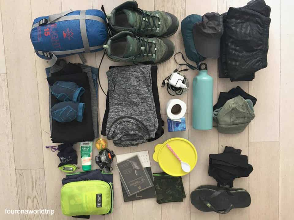 Camino Portugues Packing List