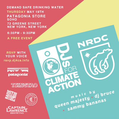 DJs for Climate Action May
