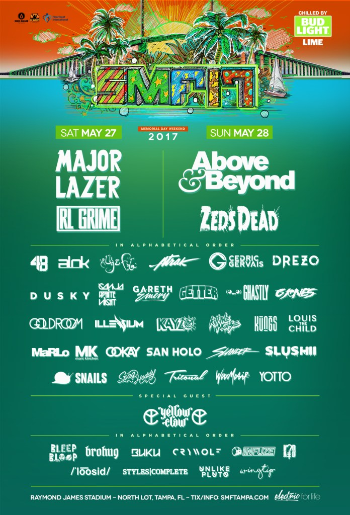 Sunset Music Festival poster