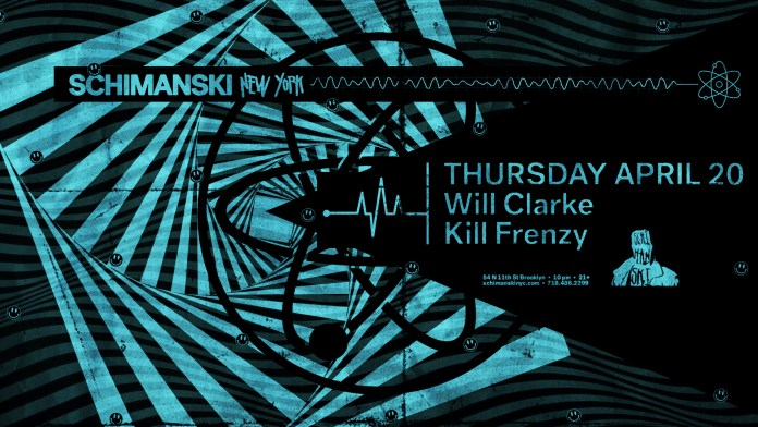 Will Clarke Schimanski flyer