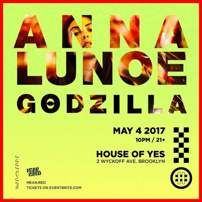 Anna Lunoe Godzilla