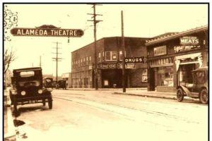former Alameda Theatre, now Alberta Rose Theatre