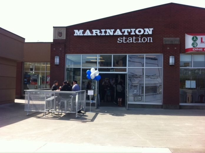 Marination Station