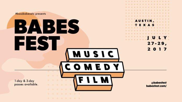 Boss Babes ATX's BABES FEST poster