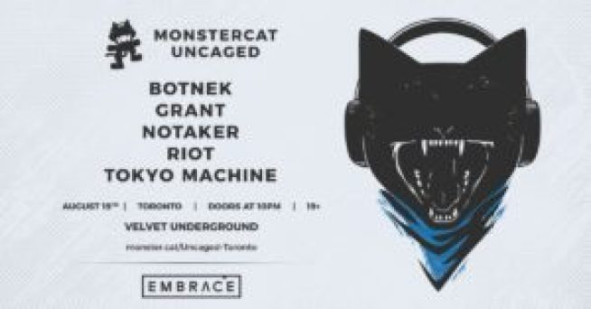Monstercat Uncaged Vol. 2! poster