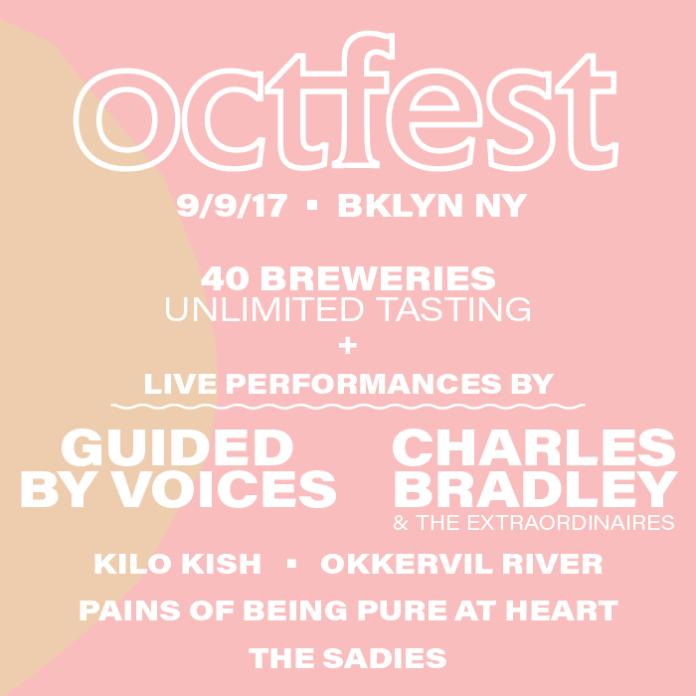 Octfest lineup poster