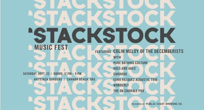 Stackstock Music Fest poster