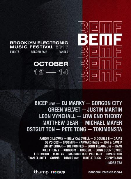 BEMF lineup poster 2017