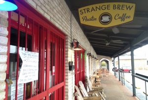 Austin's Strange Brew, since closed for non-payment of rent