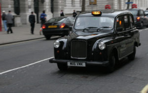 London's iconic black cabs
