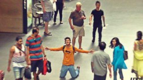 singing in public