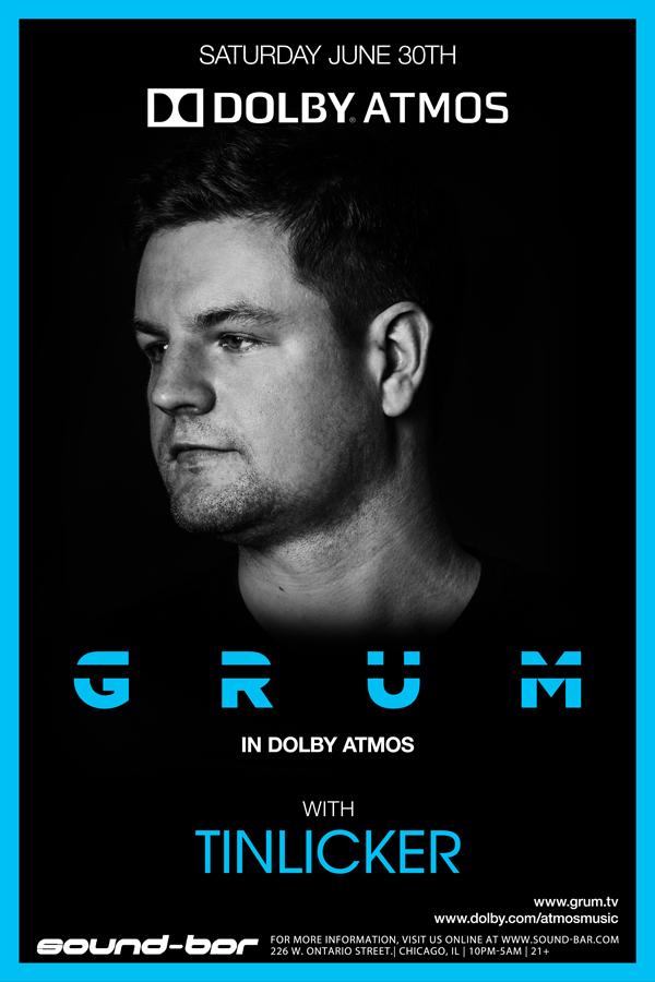 GRUM Sound Bar Dolby ATMOS