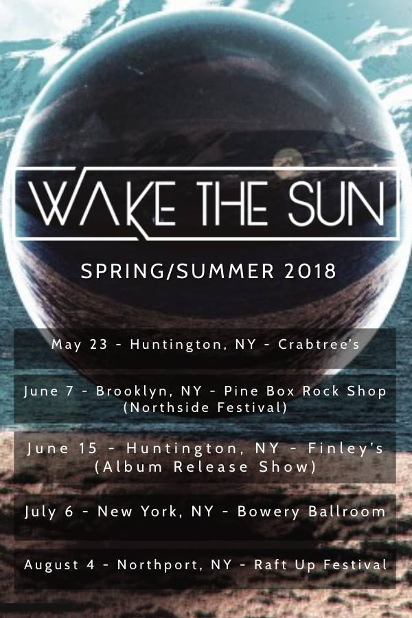 wake the sun tour poster