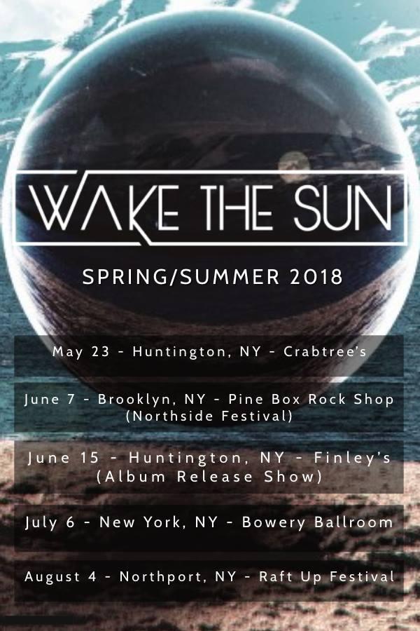 wake the sun tour poster