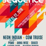 Sequence Music Festival lineup poster