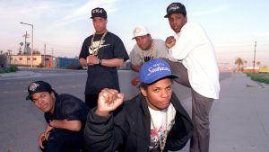 N.W.A. history of rap