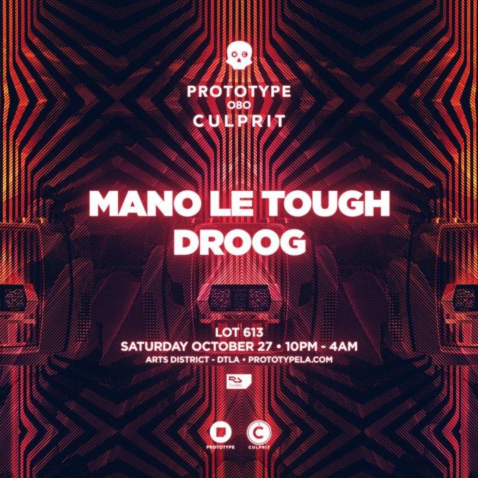Prototype 080: Culprit – Mano Le Tough & Droog poster