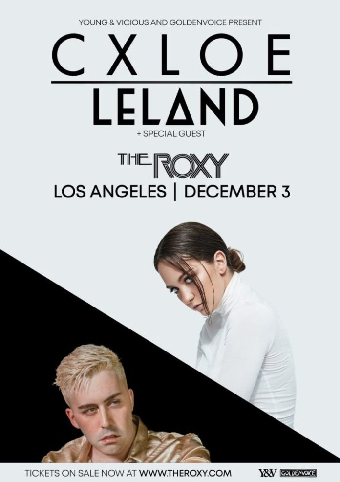 CXLOE Leland The Roxy Theatre Goldenvoice poster