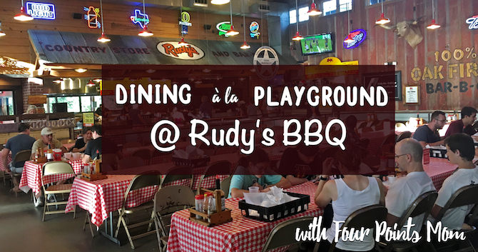 Dining À La Playground at Rudy's BBQ